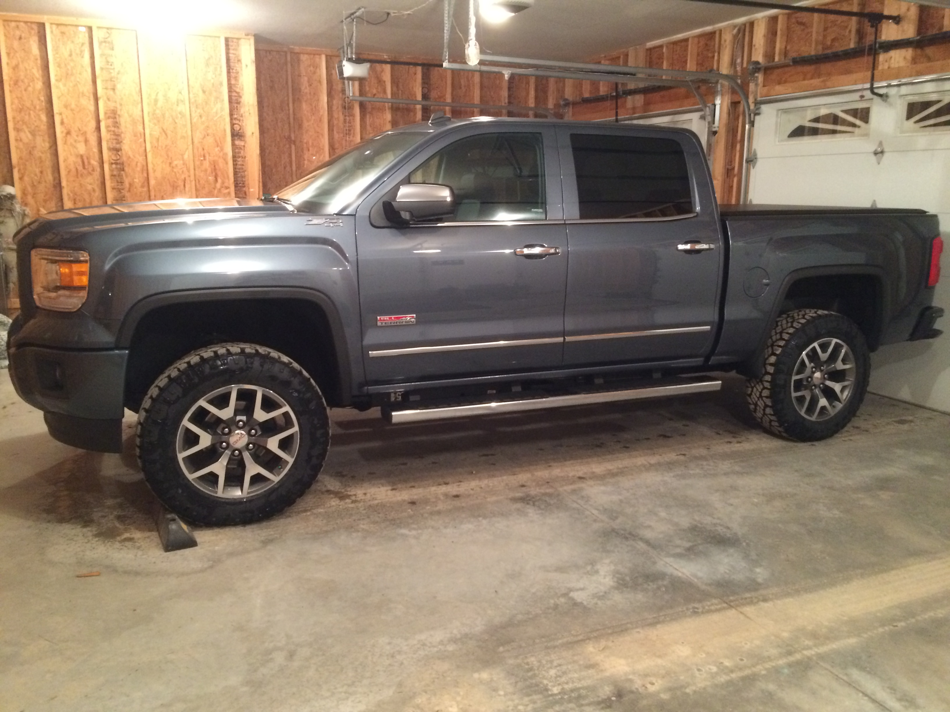 265458 2014 Chevy Silverado 1500 20 Fuel Wheels Vapor D569 Black 33x12 5x20 Rbp Mt Tires Rough Country Leveling Kit as well 177 Hk moreover 184588 25 Front And 2 Rear Level Kit as well Wheel Offset 2015 Gmc Sierra 1500 Slightly Aggressive Leveling Kit moreover Watch. on 2014 gmc sierra leveling kit